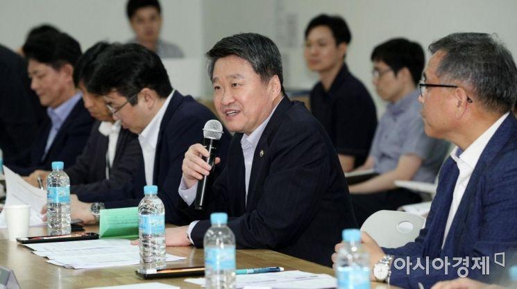 [포토] 모두발언하는 김학도 중기부 차관