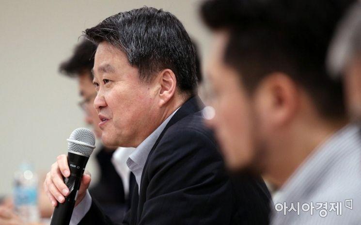 [포토] 인사말하는 김학도 차관
