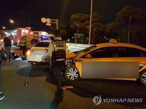 고속도로 사망 배우 '면허취소 수준'…남편 음주운전 방조 혐의