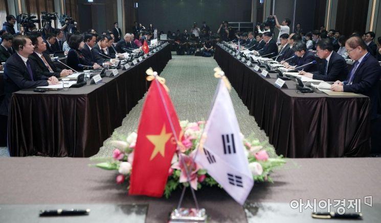 [포토] 제1차 한-베트남 경제부총리 회의 개최