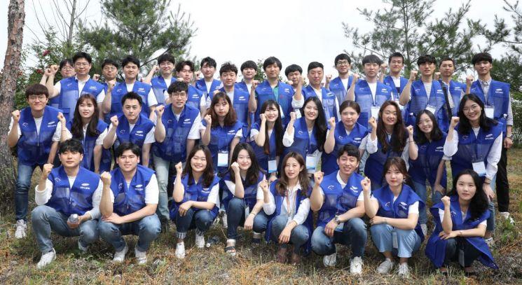 삼성디스플레이 신입사원 입사 1주년 기념 보행환경 개선 봉사활동