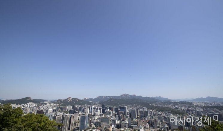 [포토] 기분 좋은 맑은 하늘
