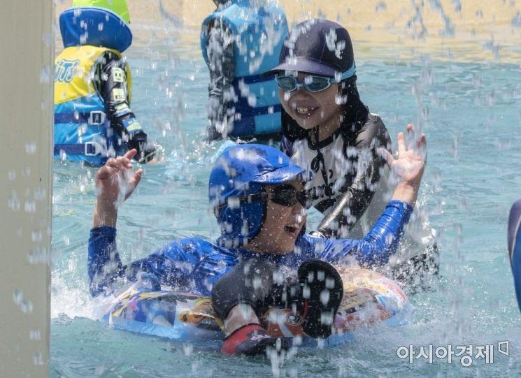 [포토] 여름이 즐거운 아이들