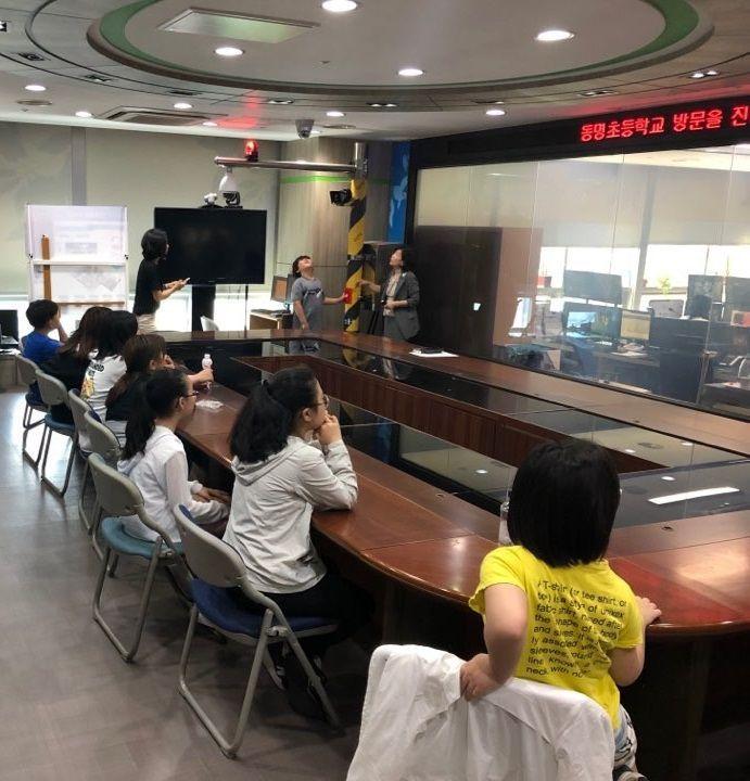 성동구 '생생한 CCTV 안전체험' 통해  위기대응 능력 키워