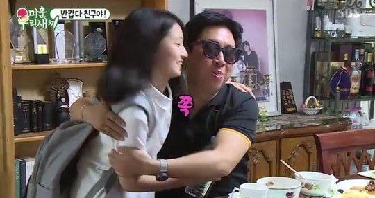 방송인 박수홍과 김경식이 친구 그룹 틴틴파이브 출신 이동우의 집을 방문했다/사진=SBS '미운우리새끼' 화면 캡처
