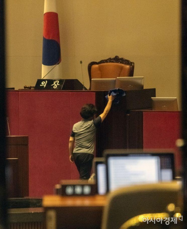 [포토] '국회 본회의, 드디어 열리나?'