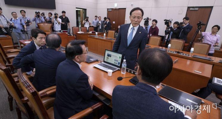 [포토] 국회 정상화 거부하는 자유한국당