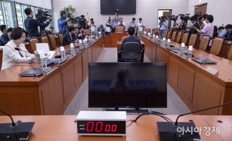 [포토] 자유한국당 빠진 국회 상임위