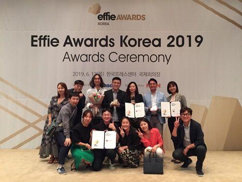 롯데칠성음료, 2019 에피어워드 코리아 시상식에서 올해의 마케터 포함 총 6관왕 수상