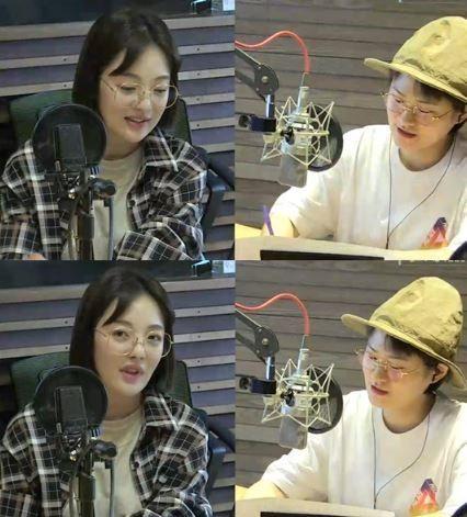 사진= MBC FM4U '정오의 희망곡 김신영입니다' 화면 캡처