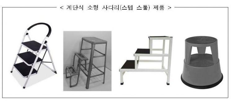 계단식 소형 사다리 '스텝 스툴' 제품 안전관리 강화