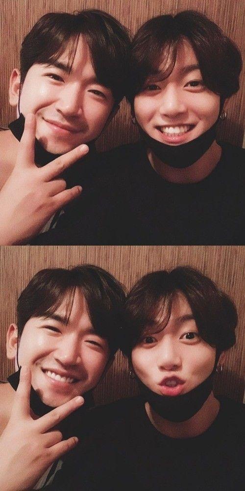 신화 이민우와 방탄소년단 정국 / 사진 = 이민우 인스타그램