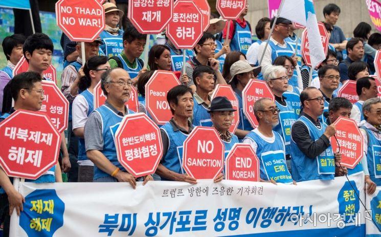 [포토]한반도 비핵화 평화협정 촉구