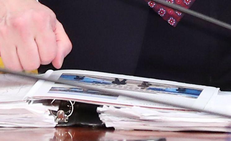 비건, 남북미 정상 만남 앞두고 판문점 사진 점검
