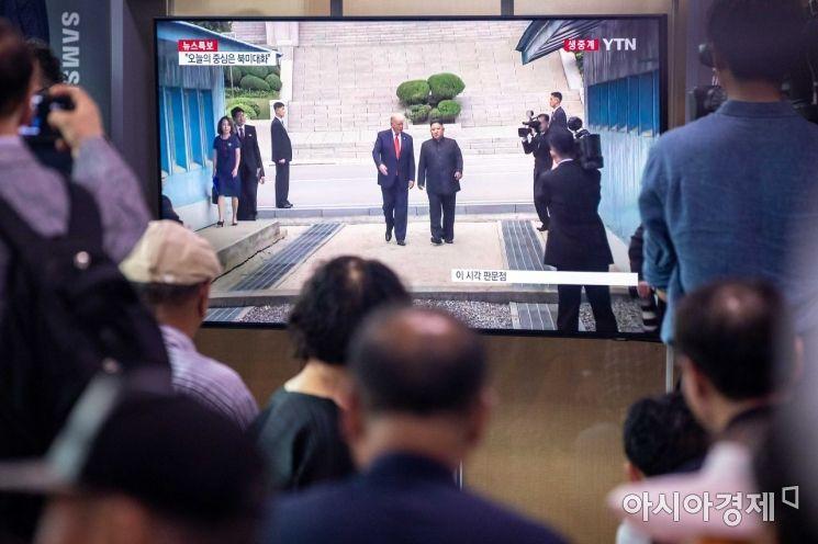 [포토]남측 자유의집으로 이동하는 김정은 위원장