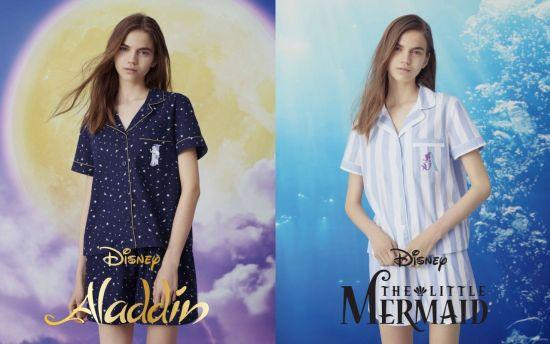 지유, 디즈니 프린세스 파자마 출시…자스민, 아리엘 되볼까