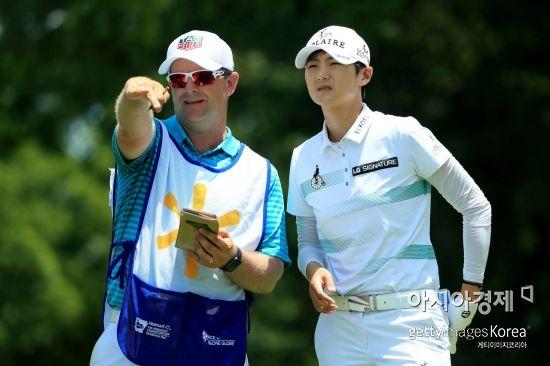 박성현이 에비앙챔피언십에서 올 시즌 첫 메이저퀸에 도전한다.