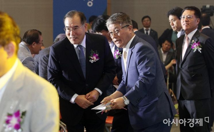 [포토] 농협 58주년 기념식 참석한 이개호 장관