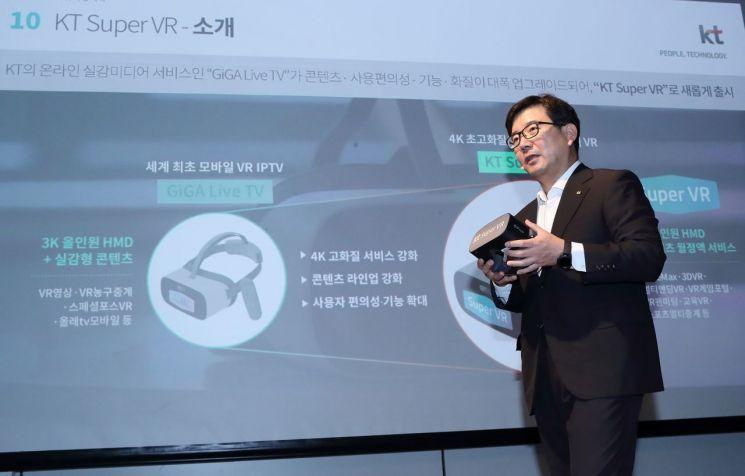KT, 독립형 기기·플랫폼 공략해 VR 시장 선점한다(종합)