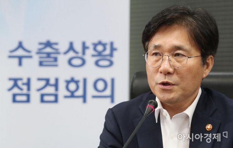 """[포토]성윤모 """"日 수출 규제, WTO 제소할 것"""""""