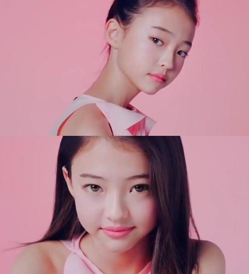 엘라 그로스 출연 배스킨라빈스 광고. 사진=해당 광고 캡처