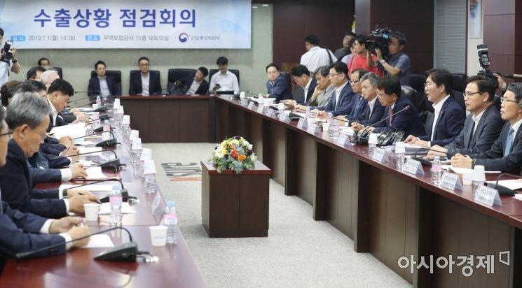 [포토]산업부 장관 주재 수출상황점검회의