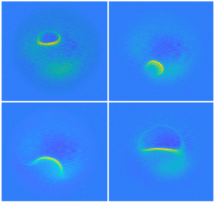 세상에서 가장 작은 MRI 원자 관측 결과(제공=기초과학연구원)