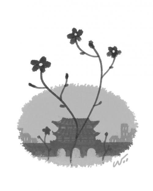 [오후 한 詩]광화문 꽃집/박송이