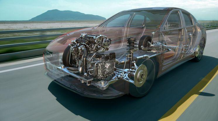 신형 쏘나타에 적용된 스마트스트림 파워트레인/사진=현대기아차