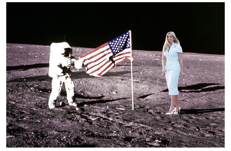 최후의 만찬부터 달 착륙까지…'낄끼빠빠' 안되는 이방카