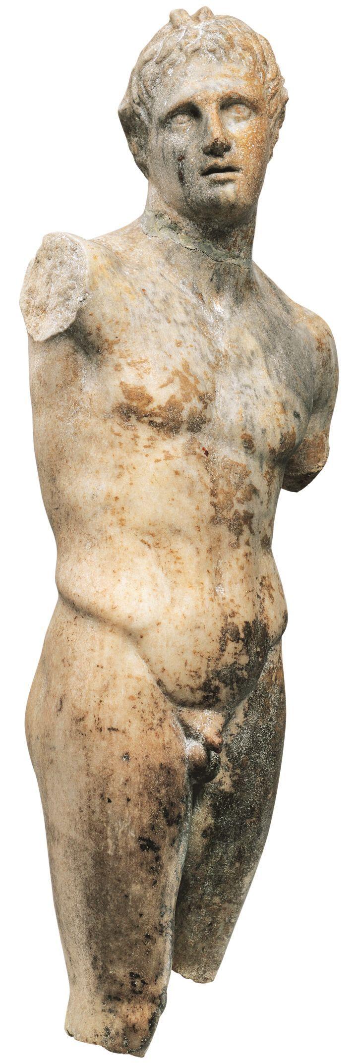 알렉산드로스-판 조각상, 초기 헬레니즘 시대, 대리석, 펠라 고고학박물관 [사진=그리스 보물전 사무국 제공]