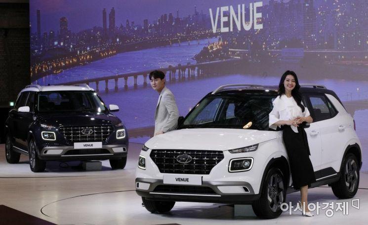 [포토] 현대차, 혼라이프 SUV 베뉴 출시
