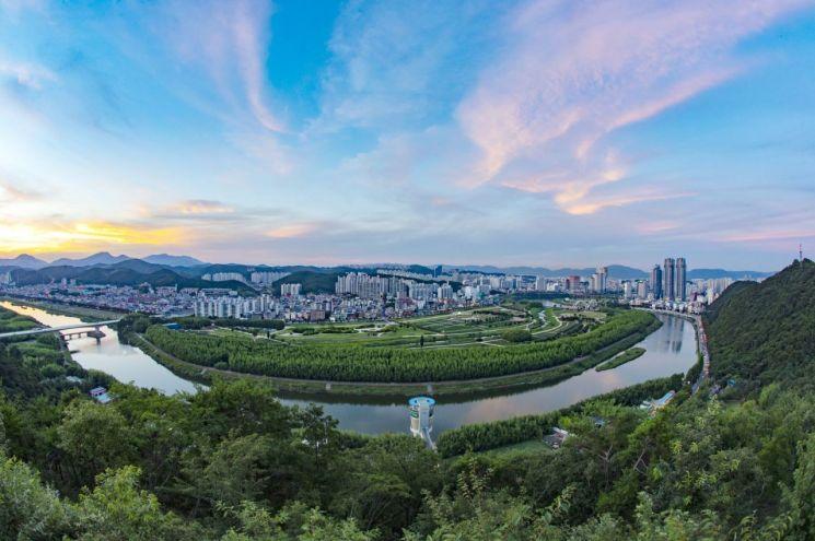 울산 태화강 정원 전경. 산림청 제공