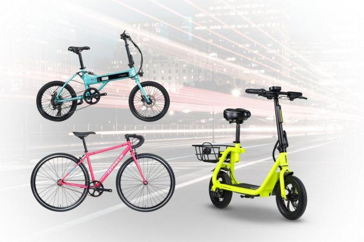 알톤스포츠 네온컬러 자전거