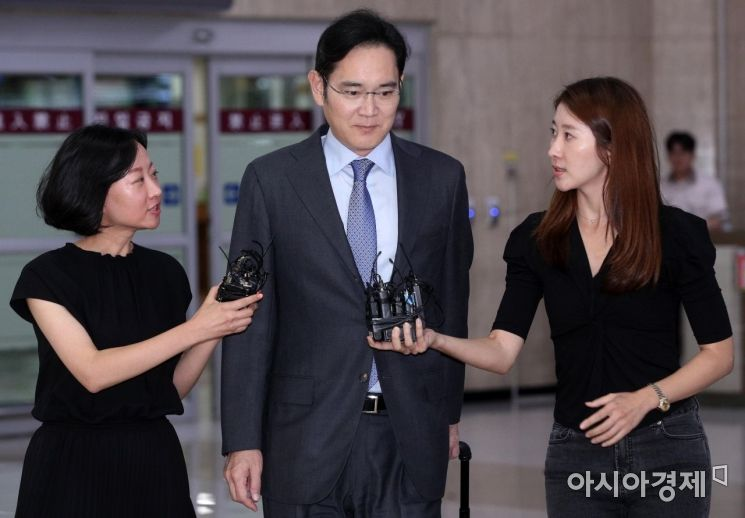 [포토] '묵묵부답' 이재용 부회장