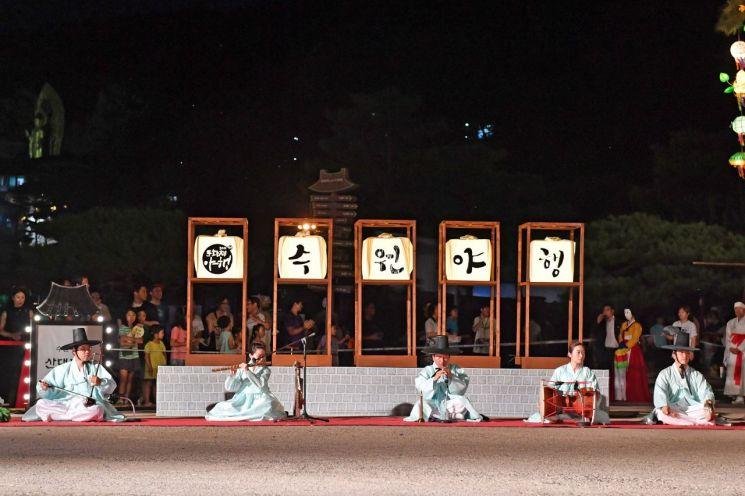 수원 문화재야행 내달 9~11일 화성행궁 일원서 열려