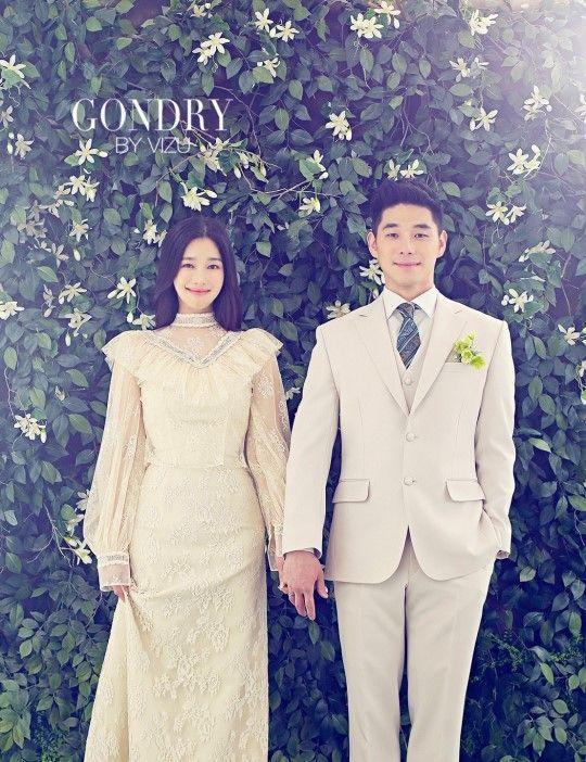 14일 오후 결혼식을 올린 배우 선우선과 이수민 / 사진 = 해피메리드컴퍼니 제공