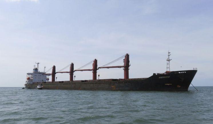 제재 위반으로 미국에 압류된 북한 화물선 '와이즈 어니스트'호 (사진=연합뉴스)