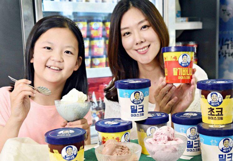 홈플러스 '빽다방 아이스크림'…백종원 인기메뉴 7만1000개 불티