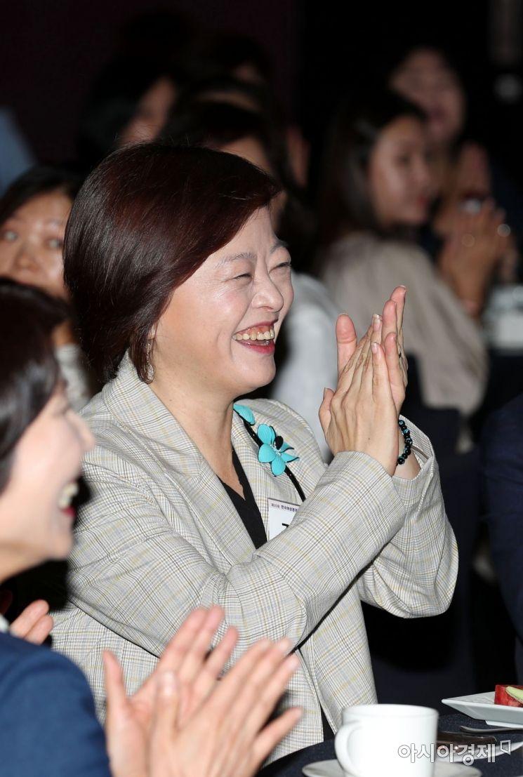 [포토]한국여성경제포럼 참석한 진선미