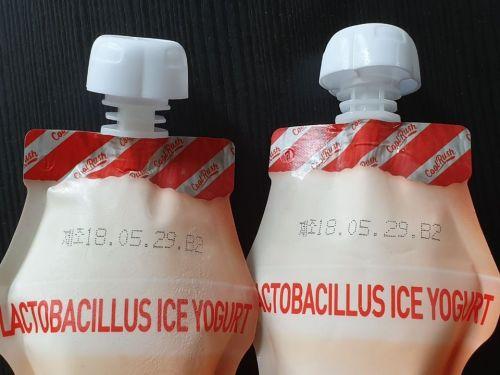 한 소비자가 온라인 거래를 통해 지난 6월 배송 받은 아이스크림 제품. 제조일자는 2018년 5월29일이다.