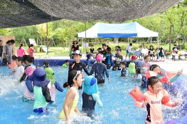 서대문구 가재울어린이공원 등 6곳 '우리 동네 미니수영장' 설치