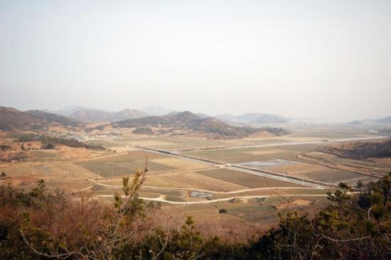 신안군에서 가장 넓은 들판인 고란평야 (사진제공=신안군)