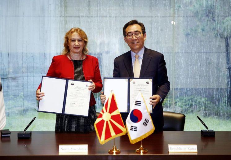 한국, 북마케도니아와 대사급 외교관계 수립