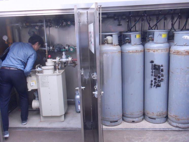 서초구, 한강 수상시설 가스 안전점검