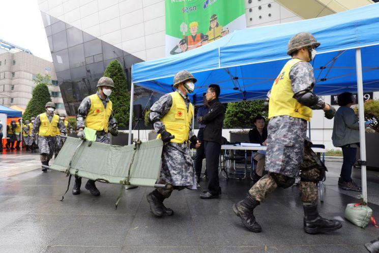 강남구, 수서역 재난대비 상시훈련