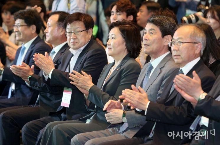 [포토] 박수치는 참석자들