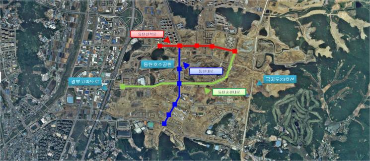 경기도시公 '동탄2신도시' 교통신호체계 연동화…교통흐름 개선