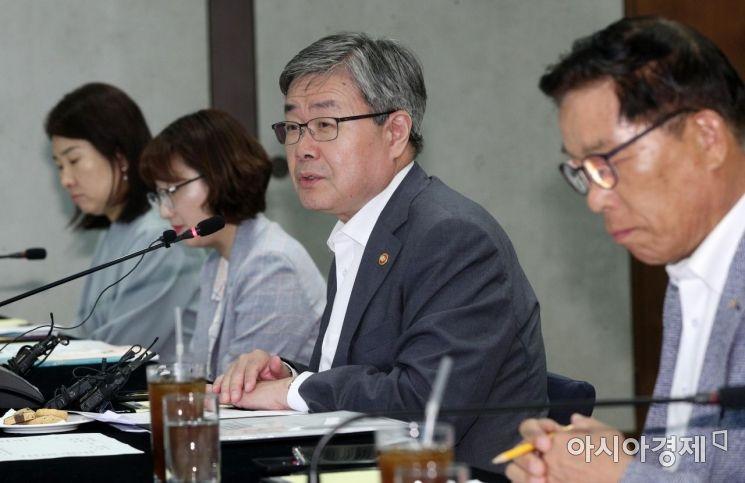 [포토] 모두발언하는 이재갑 고용노동부 장관