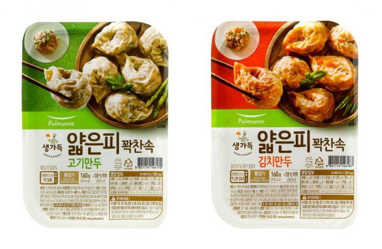 풀무원 '얇은피꽉찬속 만두', 간편함 높인 편의점 전용제품 출시